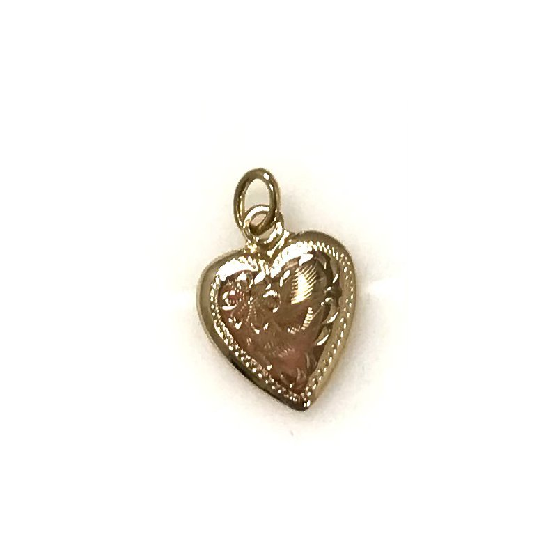 Estate Specials 10KY Small Heart Pendant