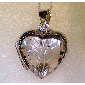 Sterling Silver Heart Locket