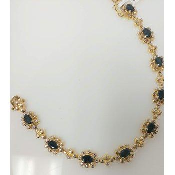 Vermeil Bracelet with Sapphires