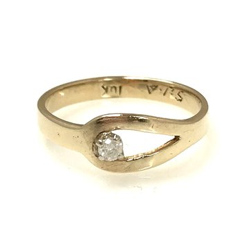 10k Diamond Fashion Ring