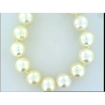 """9.5-10 18""""  Freshwater Pearl Strand With 14K Gold Clasp"""