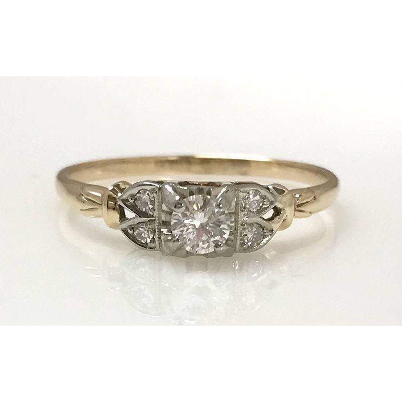 Estate Specials 14KY 1950's Vintage Ring
