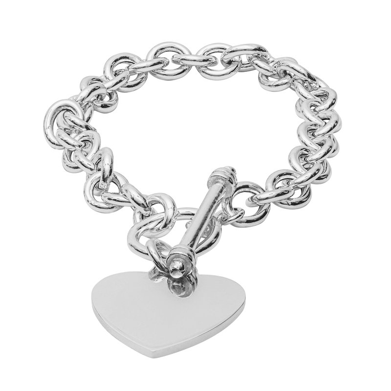 Showcase Collection Sterling Silver Toggle Bracelet