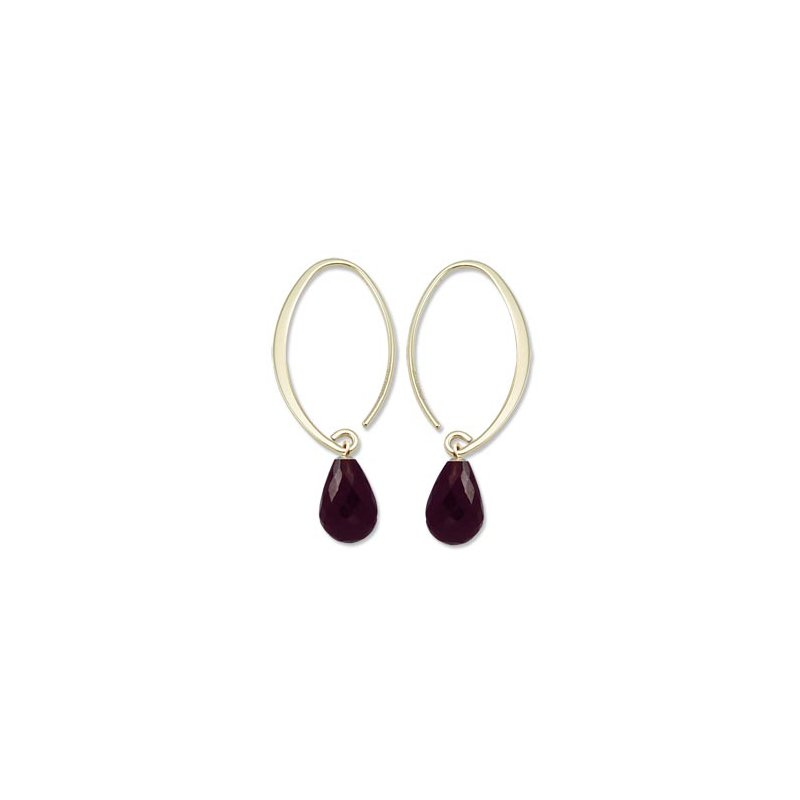Showcase Collection Garnet Briolette Earrings