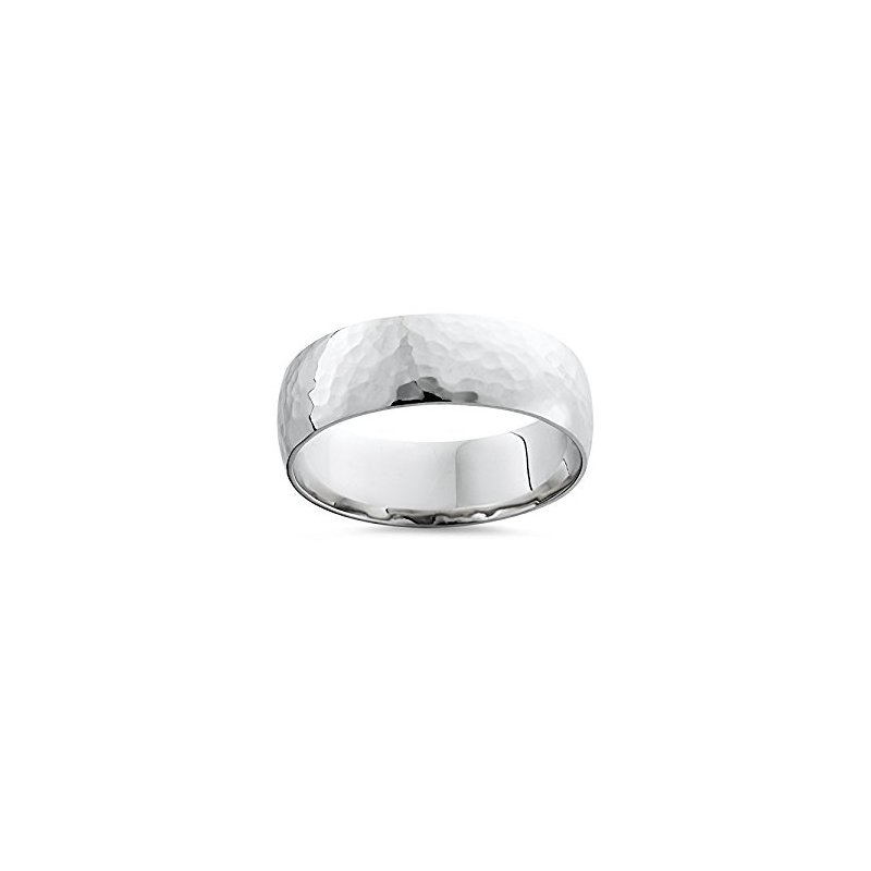 What's On Sale? Cobalt Wedding Band with Hammered Finish