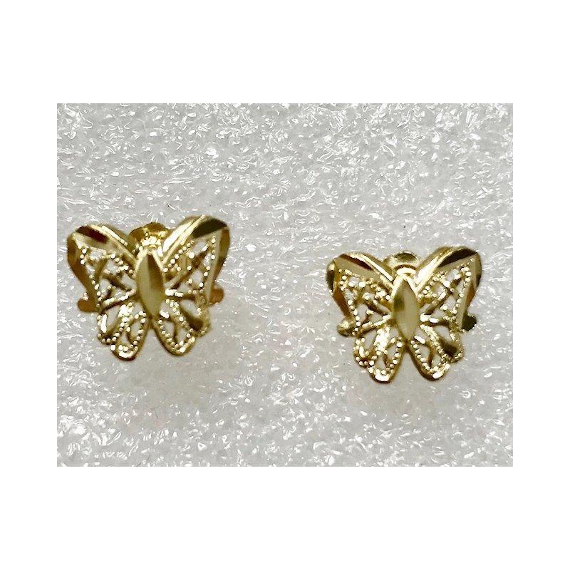 Estate Specials 14k Butterfly Earrings