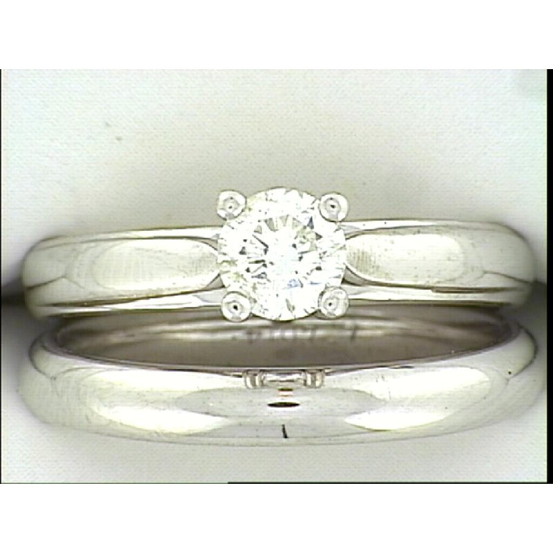 Showcase Collection 14KW Solitaire Wedding Set