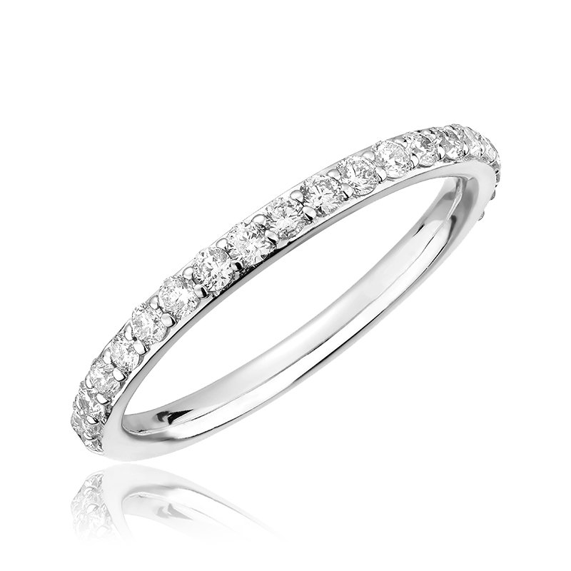 Showcase Collection 14KW Diamond Wedding Band
