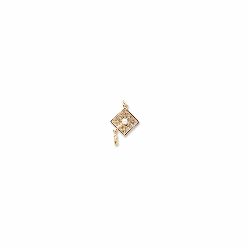 Showcase Collection Sterling Silver Graduation Cap Charm