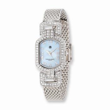 Blue Mother of Pearl Dial Watch