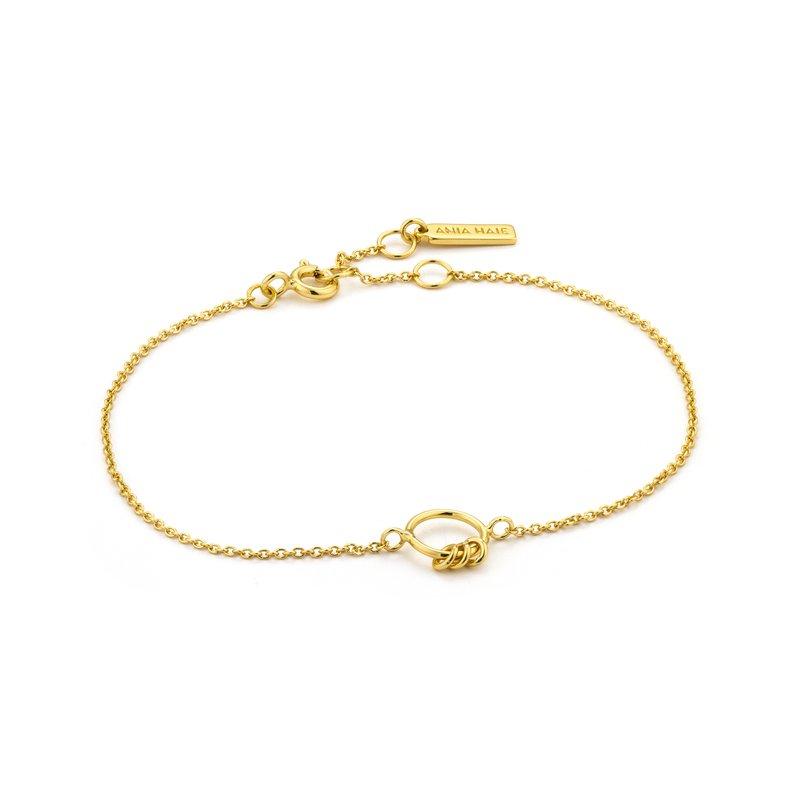 ANIA HAIE Modern Circle 6.5-7.25 Bracelet