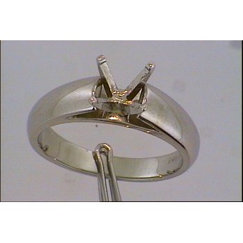 14KW Solitaire Ring Mount