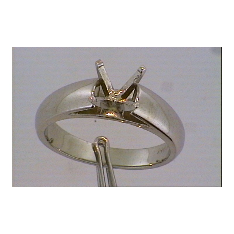 Showcase Collection 14KW Solitaire Ring Mount