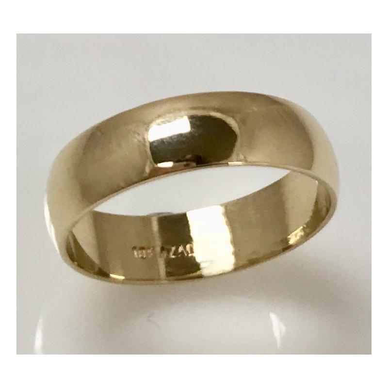 Estate Specials Gold Wedding Band