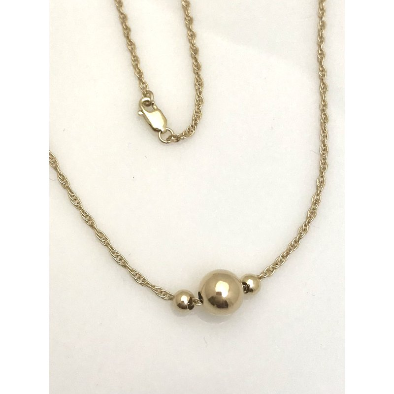 Estate Specials 14K/10KY Rope Chain with Spheres