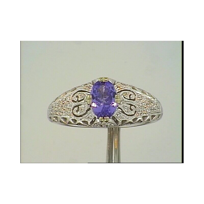 Showcase Collection Tanzanite Ring