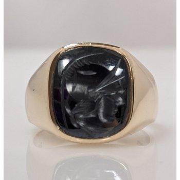 10KY Gent's Intaglio Ring