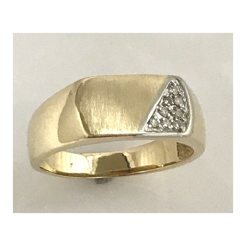 Estate Specials Gent's 10KY Signet Ring