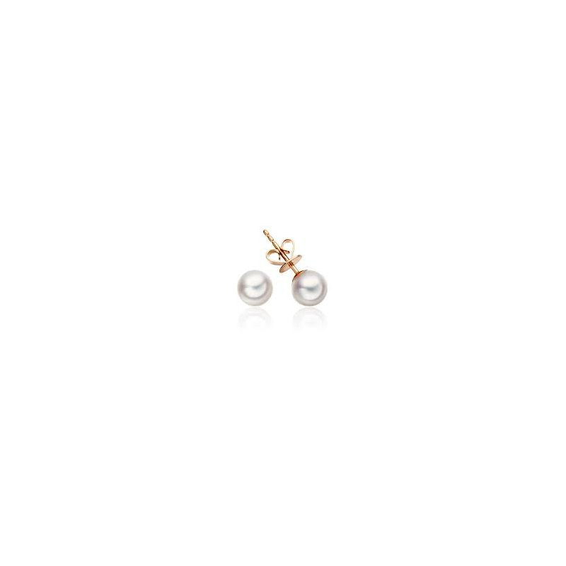 Showcase Collection 10KR FW Pearl Stud Earrings