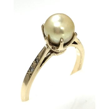 10KY Pearl Ring