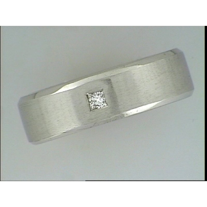 Showcase Collection 14KW Wedding Band with Diamond Accent