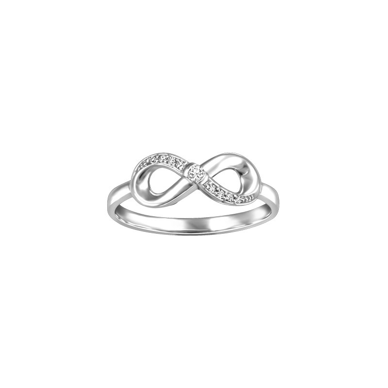 Showcase Collection 10KW Infinity Ring