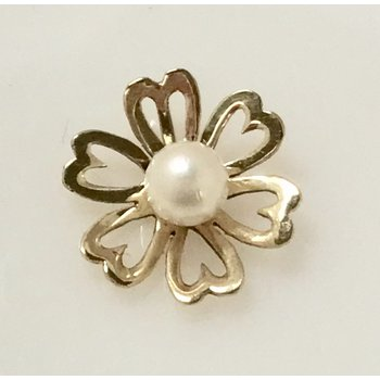 Flower Slide with Pearl