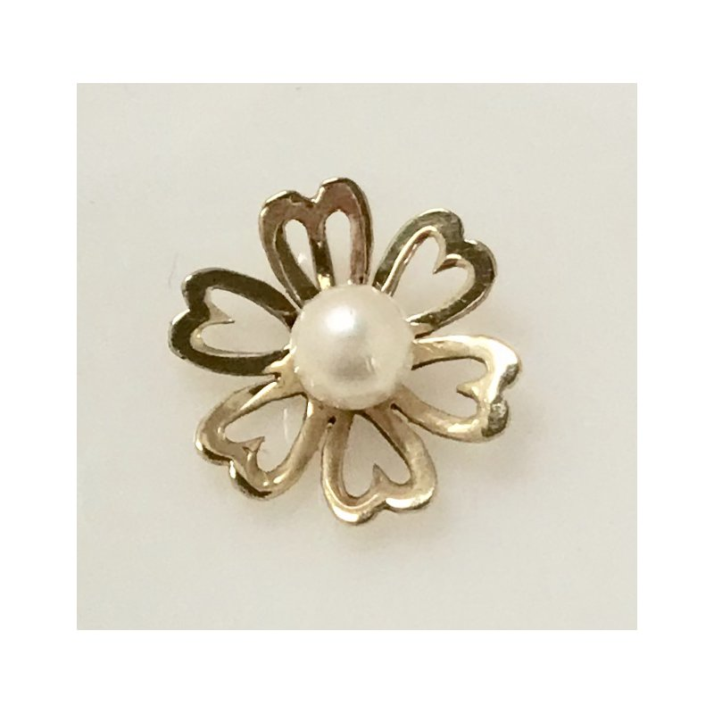 Estate Specials Flower Slide with Pearl