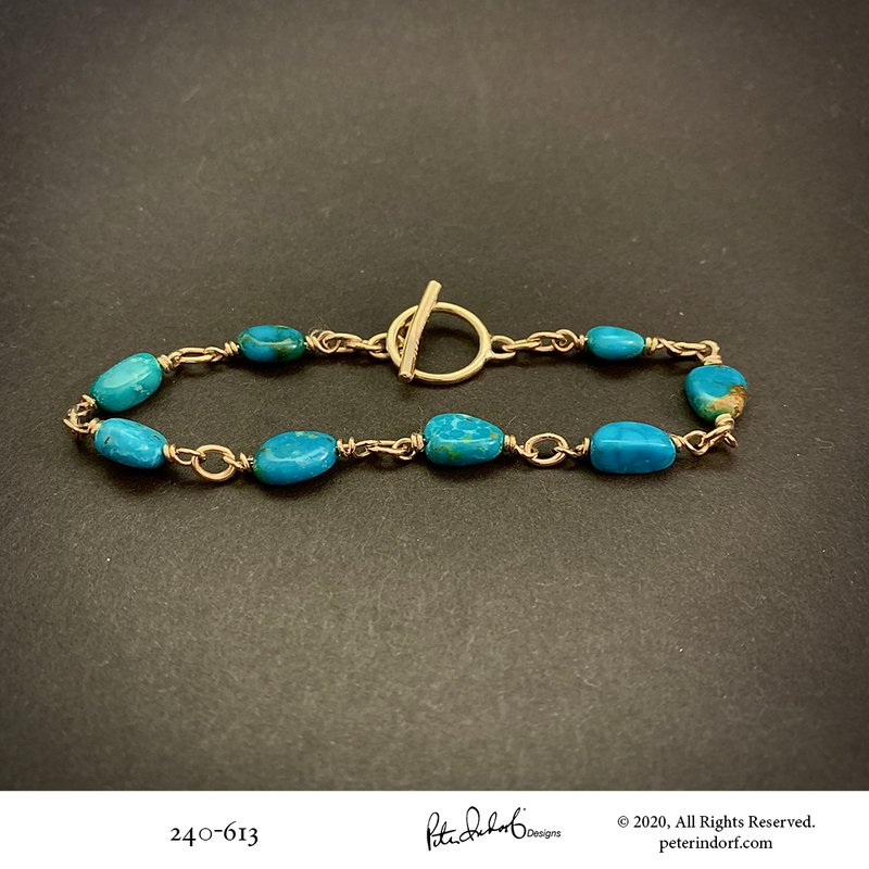 Peter Indorf Collection Turquoise Bracelet
