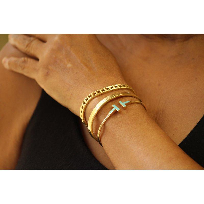 Estate Jewelry  Tiffany Diamond Bangle