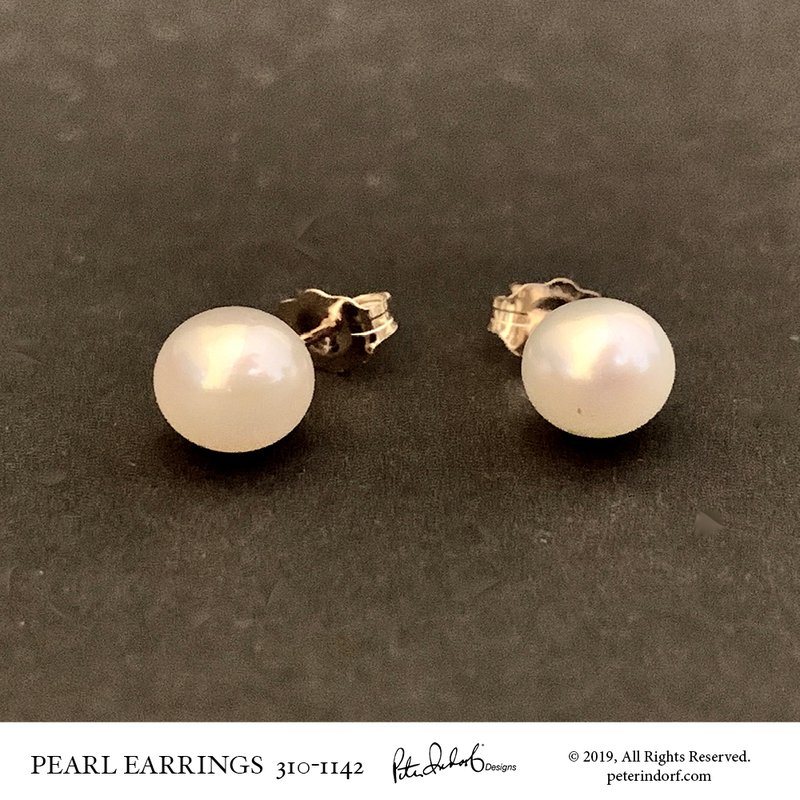 Peter Indorf Collection Akoya Pearl Studs