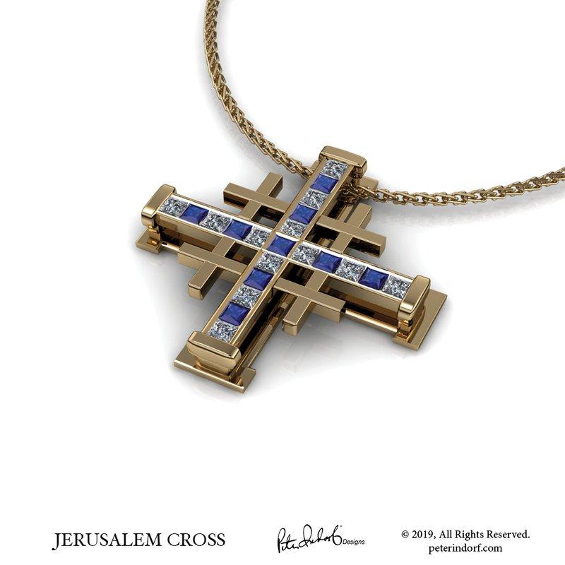 Peter Indorf Collection Jerusalem Cross
