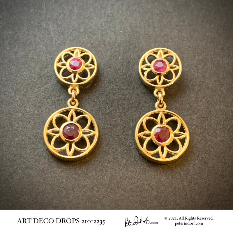 Peter Indorf Collection Art Deco Drops
