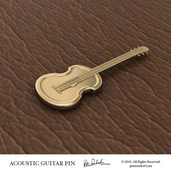 Acoustic Guitar Pin