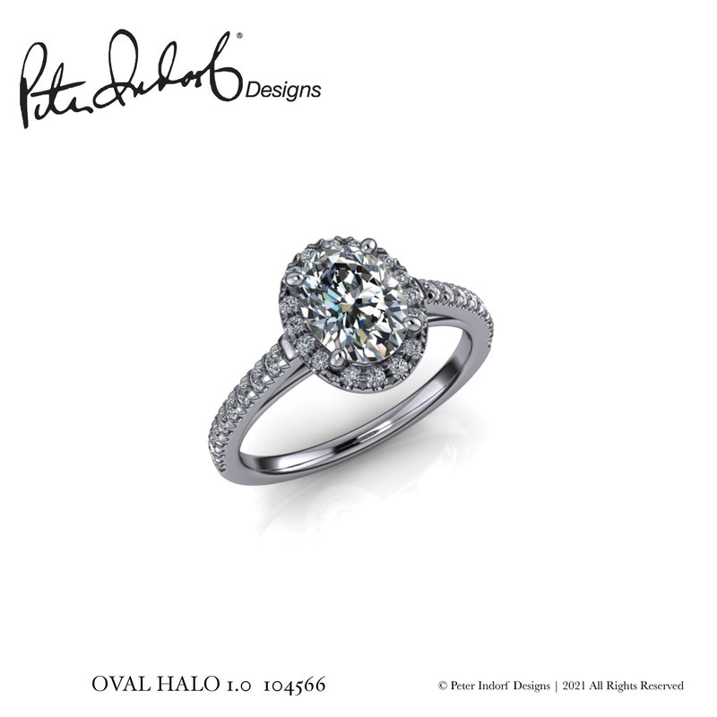 Peter Indorf Collection Oval Halo