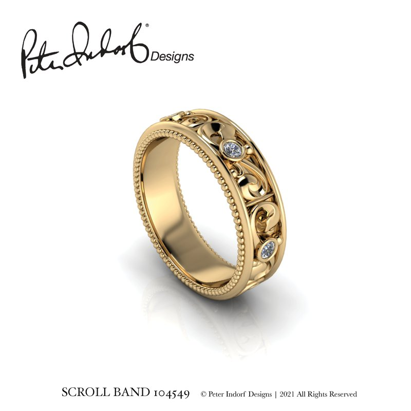 Peter Indorf Collection Scroll Band