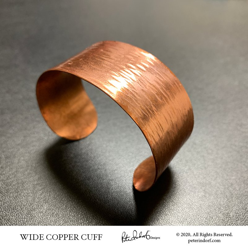 Peter Indorf Collection Wide Copper Cuff