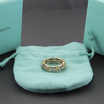 Tiffany's 16 Stone Ring