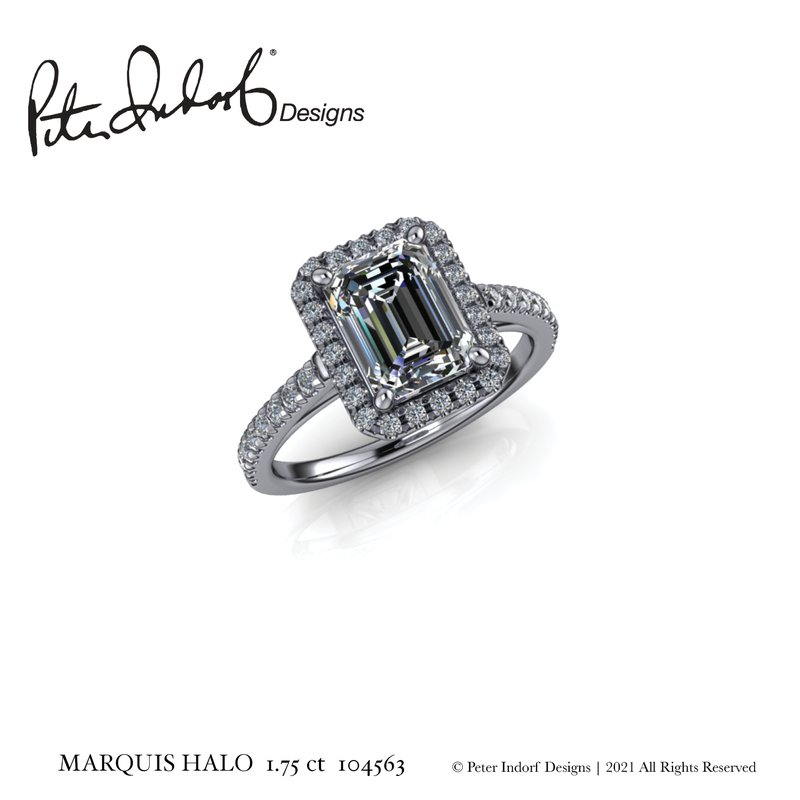 Peter Indorf Collection Emerald Halo