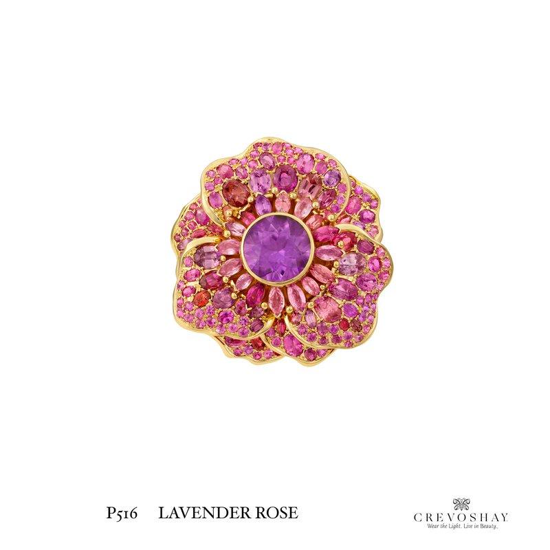 Paula Crevoshay  Lavender Rose