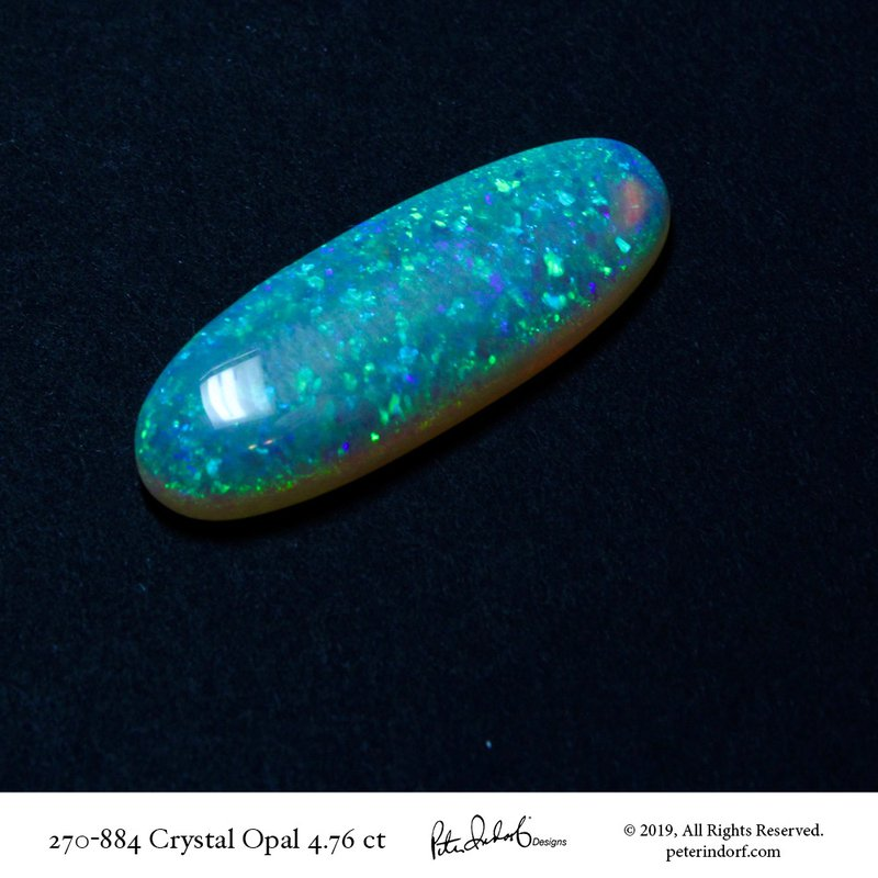 Peter Indorf Collection Mintabee Mine Opal