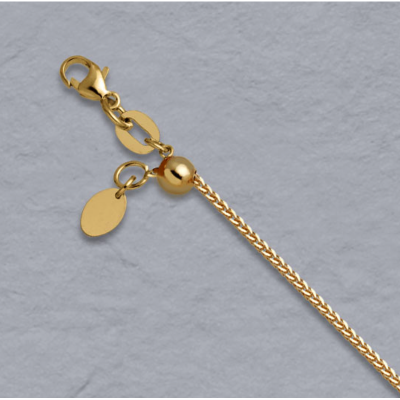 Peter Indorf Collection Adjustable Wheat Chain