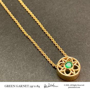 Green Garnet Slide