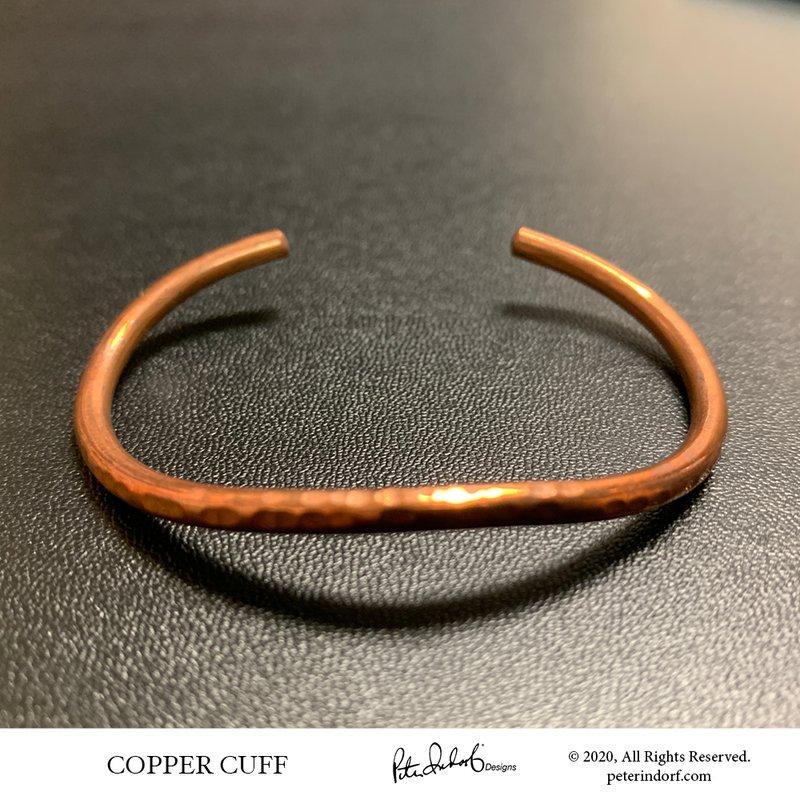 Peter Indorf Collection Hammered Copper Bracelet