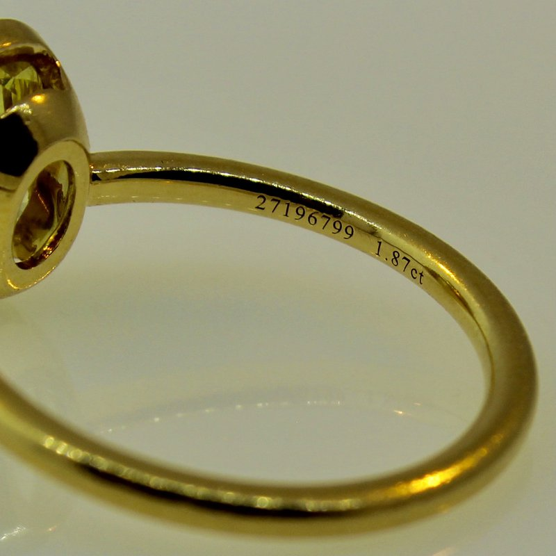 Estate Jewelry  Tiffany Oval Diamond Ring