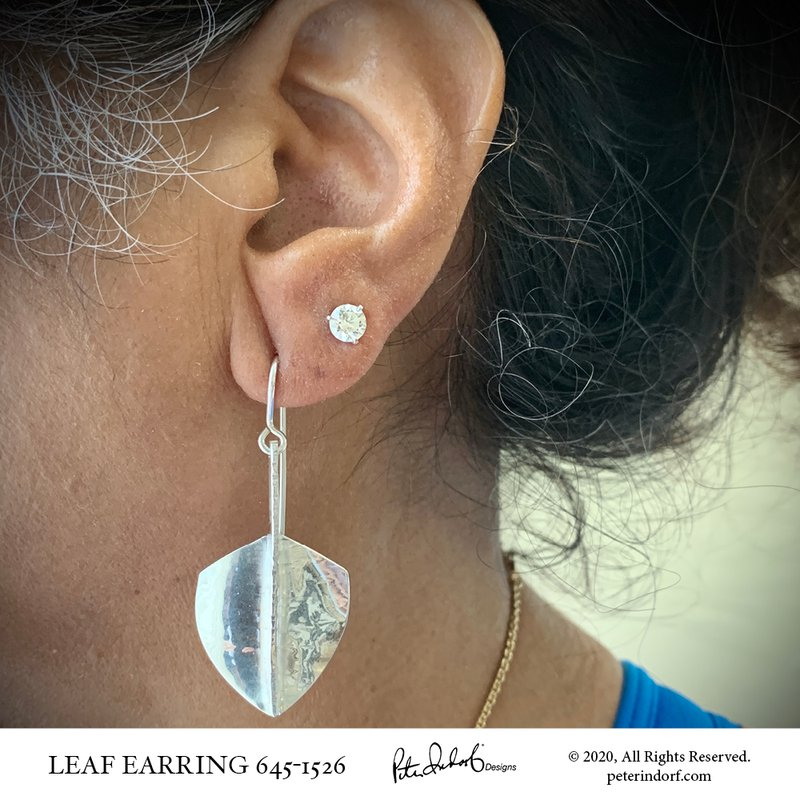 Peter Indorf Collection Leaf Earrings