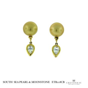 South Sea Pearl & Moonstone
