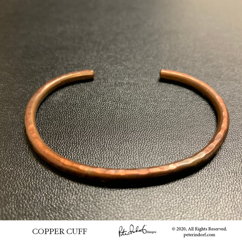 Peter Indorf Collection Straight Copper Cuff