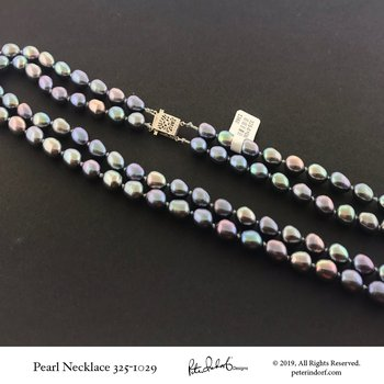 Double Strand Pearl Necklace
