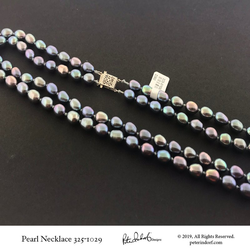 Peter Indorf Collection Double Strand Pearl Necklace